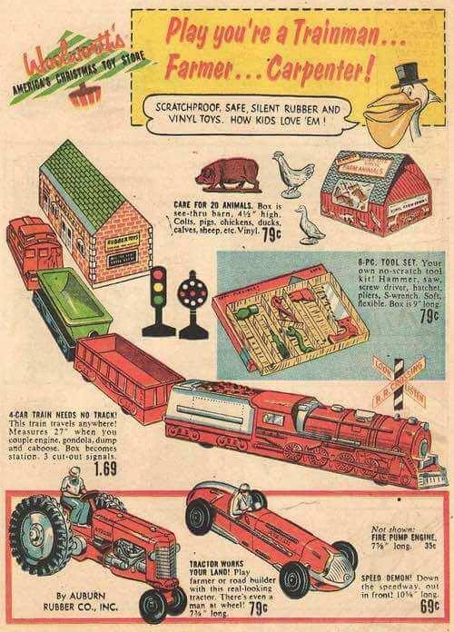 1950s Boys Toys