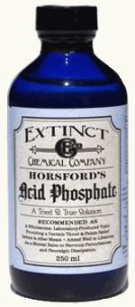 Bottle of Acid Phosphate