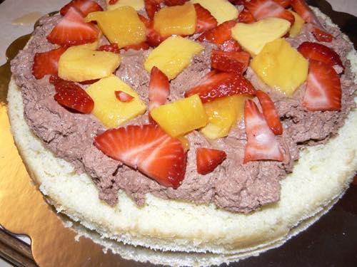 Add Bottom Layer of Cake