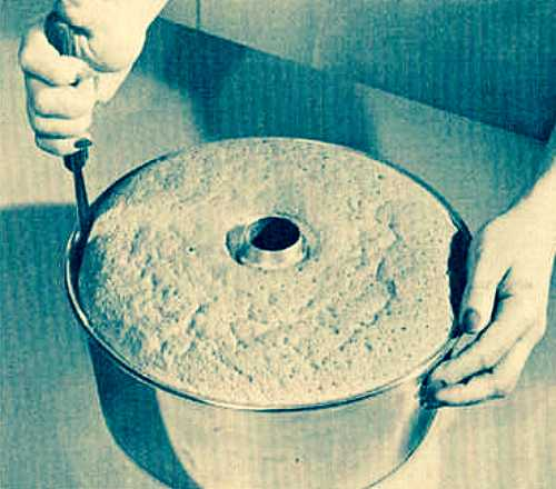 Tip for Removing Angel Cakes from Pan