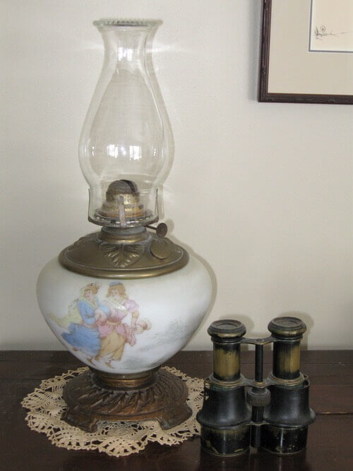 Lighting Oil Lamps Safely