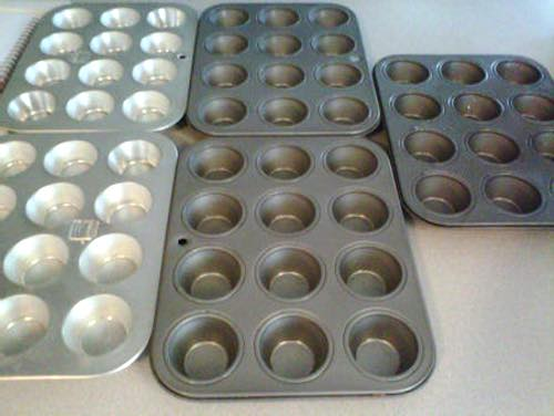 Arrange Muffin Pans