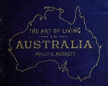 The Art of Living in Australia Book Cover