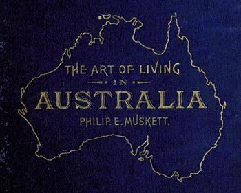 The Art of Living in Australia Cover