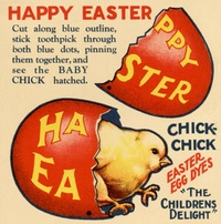 Baby Chick Easter Novelty