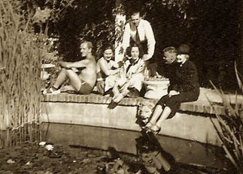 Berenice Harley Korshet with Friends