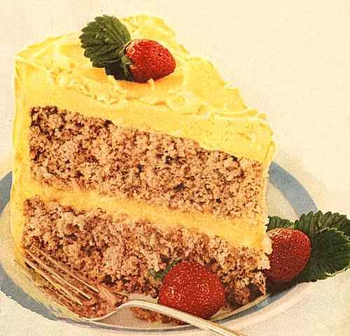 Berry Spice Cake