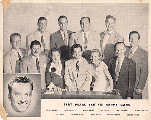 Bert Pearl and His Happy Gang Photo
