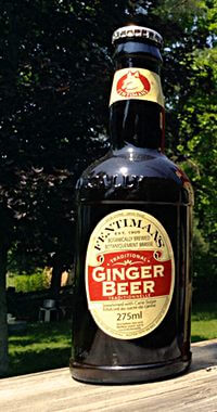 Commercially Bottled Ginger Beer