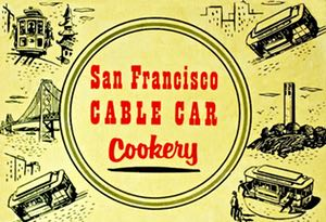Cable Car Cookery Cover