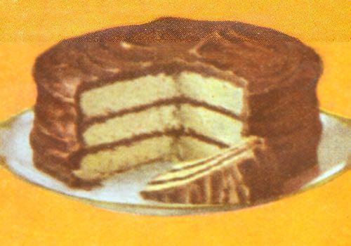 Chocolate 3-Layer Cake