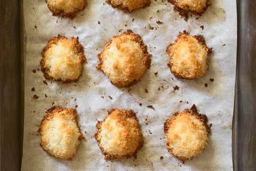Coconut Macaroon Cookie Recipe