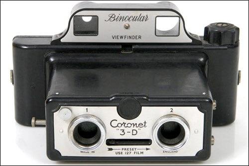 Coronet 3D Camera circa 1955
