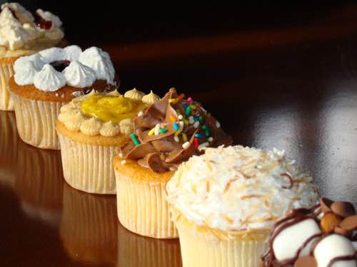 Creatively Decorated Cupcakes