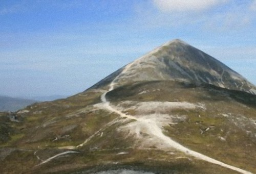 Croagh Patick Mountain, County Mayo, Ireland