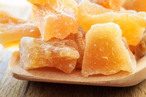 Crystallized Ginger Candy Pieces