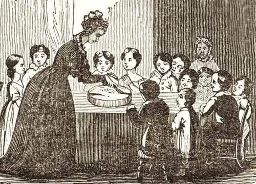 Dividing the Twelfth Night Cake