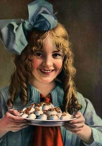Girl with Divinity Candy