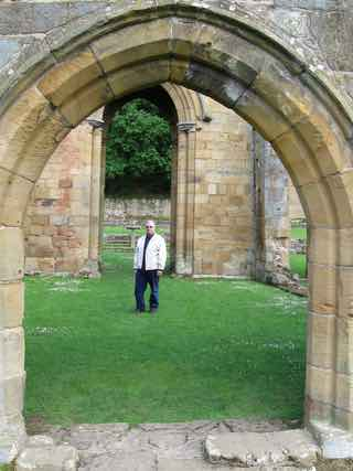Don Bell at Mount Grace Priory
