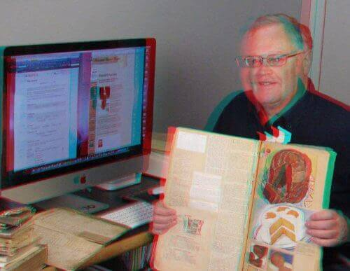 Example of an Anaglyph 3D Photo