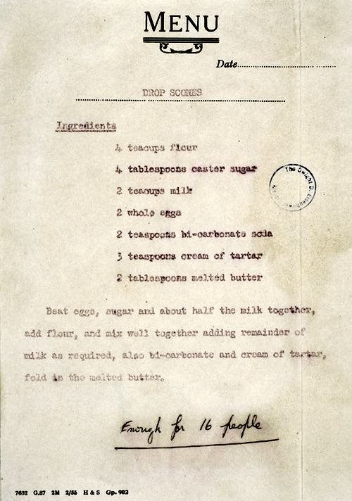 Queen Elizabeth II's Drop Scone Recipe