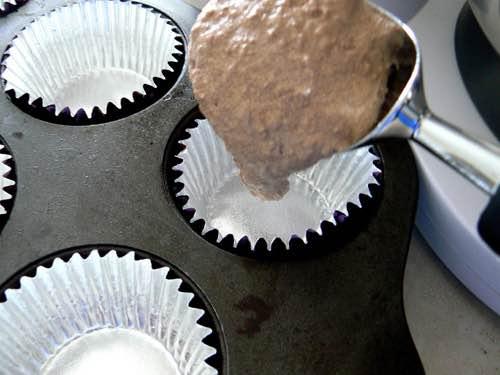Filling Cupcake Liners