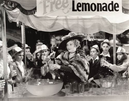 Free Lemonade Beverage