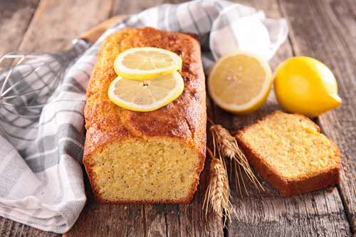 French Lemon Loaf Cake Recipe