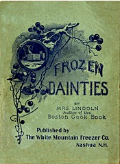 Frozen Dainties 1899