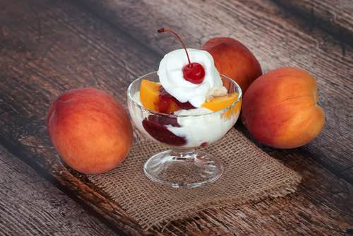 Fruit Pudding Sundae