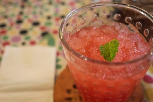 Fruit Punch with Ice