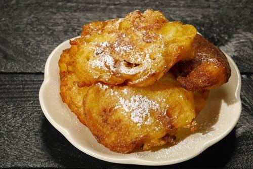 Fruity Fried Donut Treat