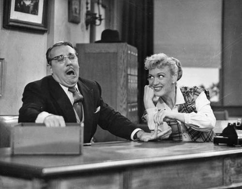 Gale Gordon and Eve Arden, Stars of TV Sitcom Our Miss Brooks