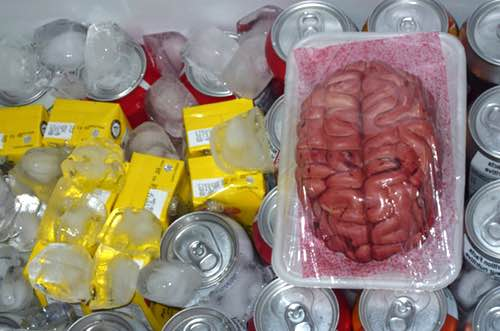 Gelatin Brain for Halloween