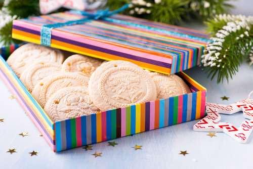German Springerle Cookies