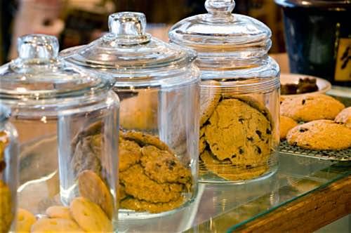 Glass Cookie Jars