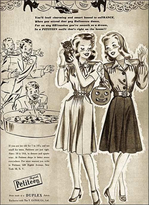 1945 Party Dress Styles