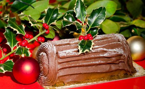 Homemade Buche de Noel Cake For Christmas