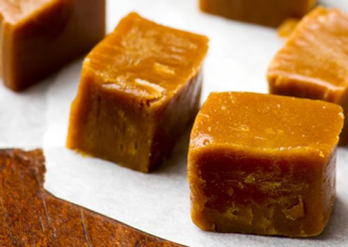 Homemade Butterscotch Candy Pieces