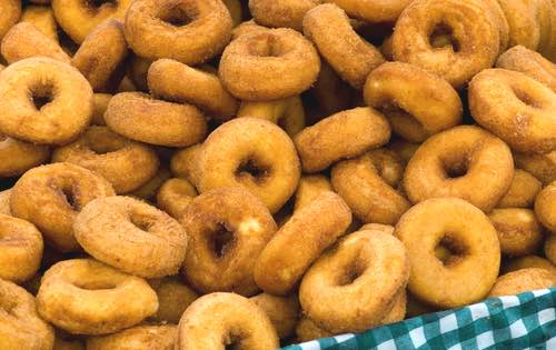 Freshly Made Homemade Donuts