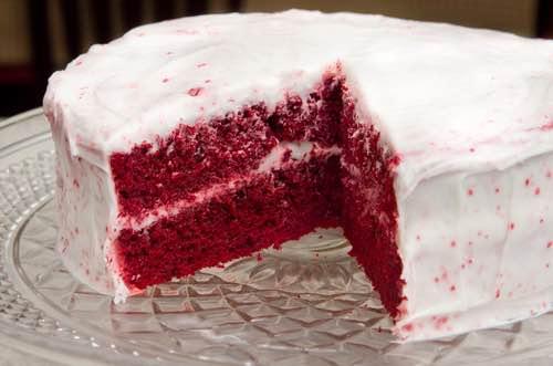 Homemade Red Velvet Cake Recipe