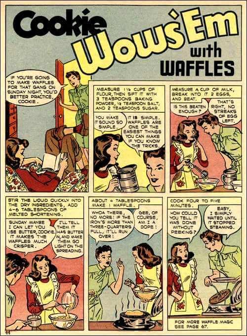 Homemade Waffle Recipes