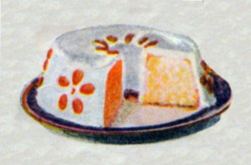 Simple White Fruit Cake