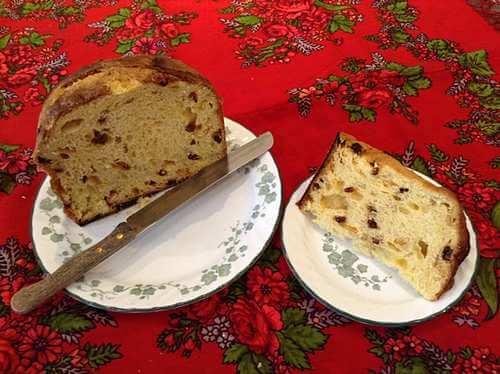 Italian Panettone Cake