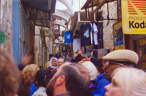 Arab Suq, Historic Marketplace, Jerusalem, Israel
