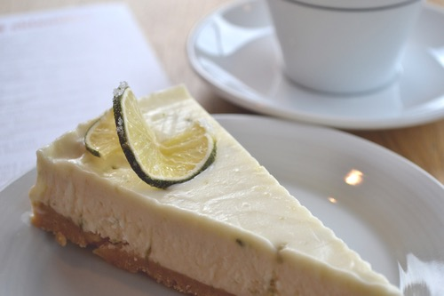 Maria's Lemon and Lime Cheesecake