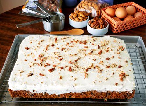 Lunchbox Carrot Cake