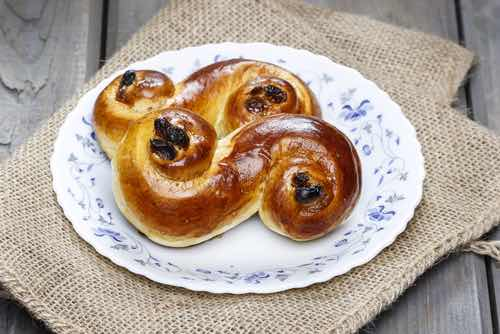 Lussekatter or Lucia Buns