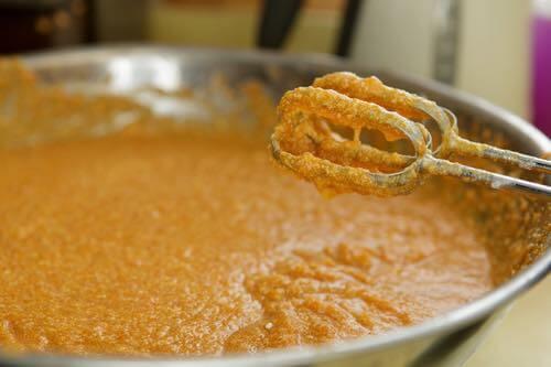 Making a Sweet Potato Pie