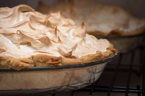 Oven Browned Meringue Pie Topping